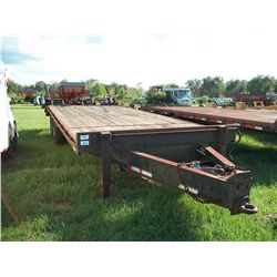 1997 BETTER BUILT 8 X 25 TAG TRAILER, AIR BRAKES Ser#:4MNDP2523V0000680