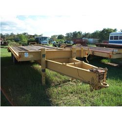 1974 CUST 8X21 TAG TRAILER NOTE: BILL OF SALE & TAG RECIEPT ONLY Ser#:74281736