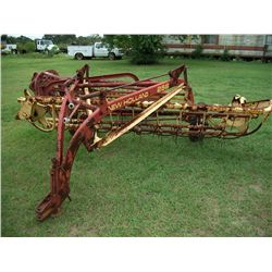 New Holland 256 side delivery hay rake Ser#:900032