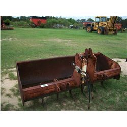 Gannon 76'' Grader Box w/ Hyd Teeth