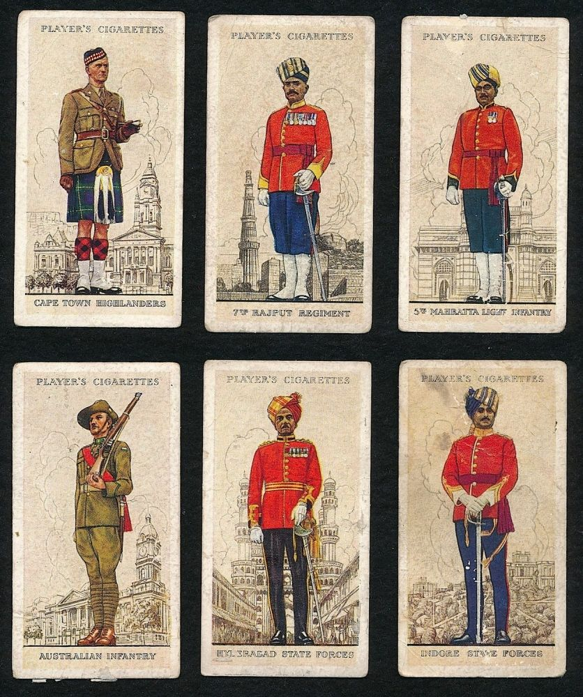 players cigarette cards