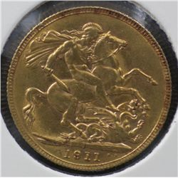 1911 Perth Sovereign Uncirculated