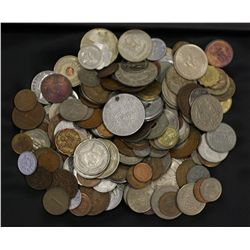 1 Kilo mixed World coins
