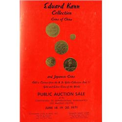 EDUARD KANN COLLECTION, COINS OF CHINA