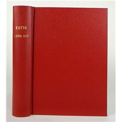 RATTO (1927) SALE OF GREEK COINS