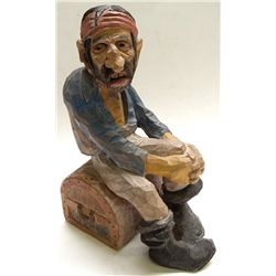 Andy Anderson Pirate caricature carving