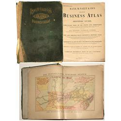 Rand, McNally & Co. Business Atlas 1907