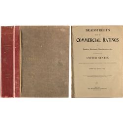 Bradstreet's Book of Commercial ratings of bankers, merchants, manufacturers 1924