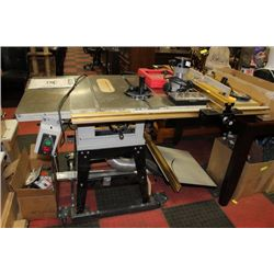 Tradesman 10 Table Saw With Mule Sliding Table
