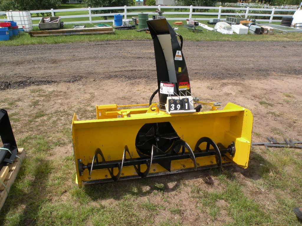 Image 1 : Erskine Model 1812 snowblower-fits Bobcat 743B ...