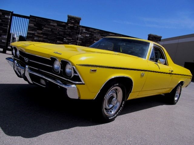 1969 Chevrolet El Camino Ss 396 Big Block Gm Of Canada