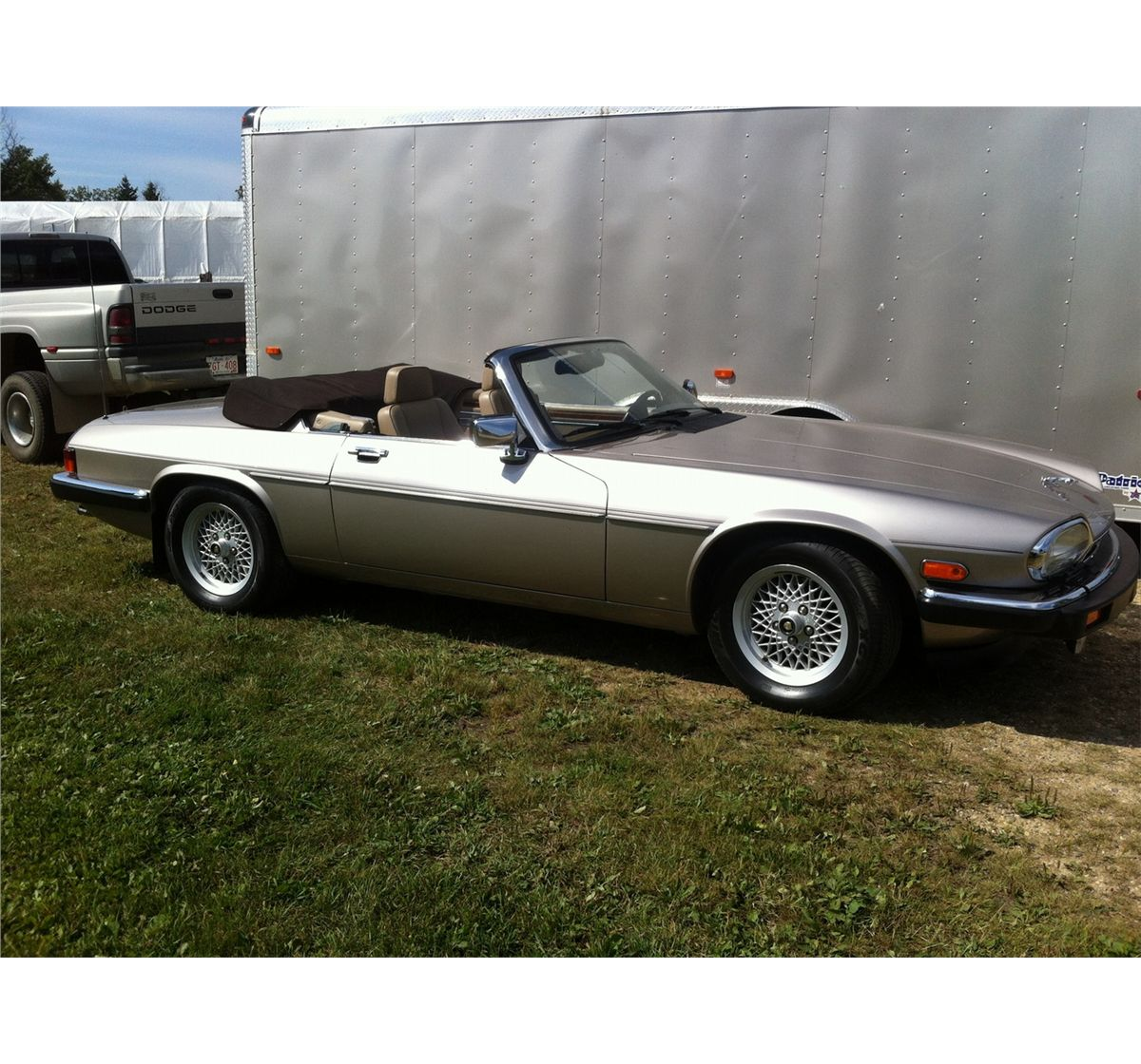 Price Of Jaguar Convertible: NO RESERVE! 1986 JAGUAR XJS CONVERTIBLE
