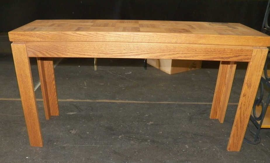 Sofa table inlayed sofa table approx 26 tall x 48 wide x for 10 deep sofa table