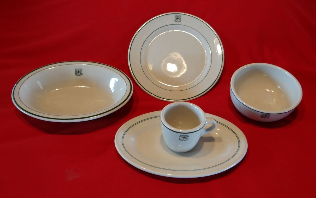 Image 1  US Forest Service dinnerware accessory pieces 8 assorted pcs ... & US Forest Service dinnerware accessory pieces 8 assorted pcs
