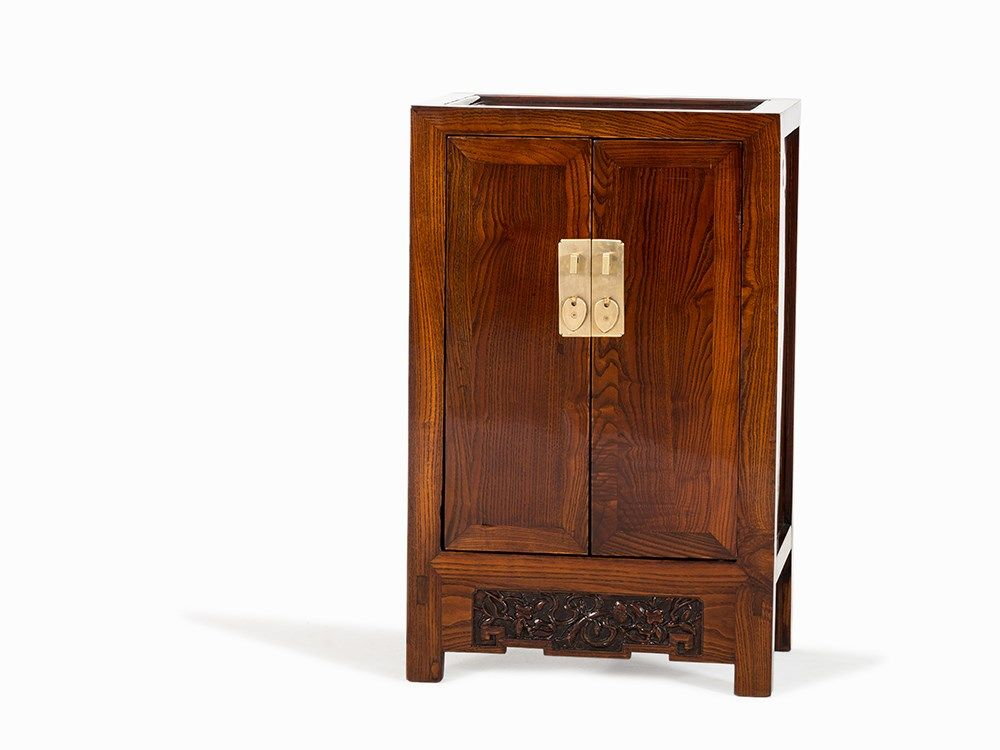 huanghuali small two-door cabinet, 18th c.