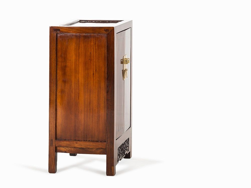 Huanghuali Small Two Door Cabinet 18th C