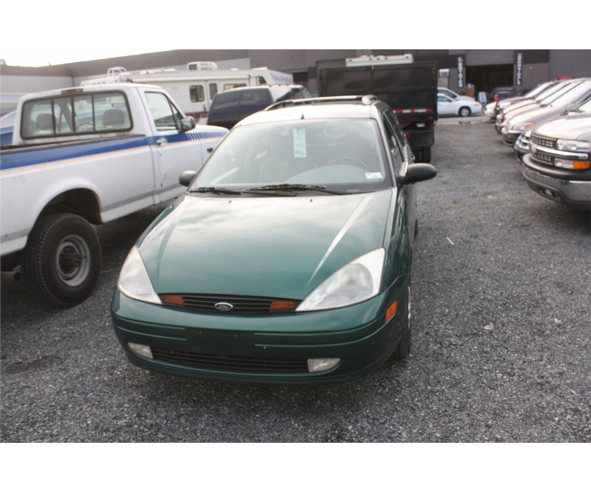 2001 ford focus 4drsw vin 1fafp36341w293494 able auctions. Black Bedroom Furniture Sets. Home Design Ideas