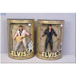 "Two boxed Elvis Presley including ""68"" Special"" and ""Teen Idol"" from the Sun never sets on a legend"