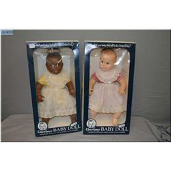 "Two boxed 17"" Gerber babies circa 1979 made by Atlanta Novelty"