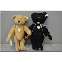 "Two Steiff jointed bears including Petsy #192812"" caramel coloured jointed bear and ?Teddybar? 1953"