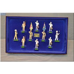 "Limited Edition box Britain?s Metal soldiers ""The Royal Marines"" #001382"