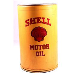 Shell motor oil rodeo barrel this lot features a s for Motor oil by the barrel