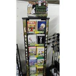 Golf Card Display w/Cards - Over 200