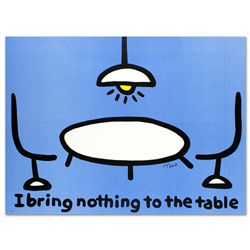 I Bring Nothing to the Table by Todd Goldman