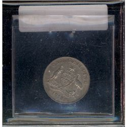 Australia 1918M One Shilling in AU-50, catalogue at 4 dollars25.00 in McDonald catalogue.
