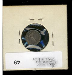 Great Britain, 1 Silver Penny 1754 VF