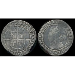 Great Britain, 6 Pence 1579 F-12