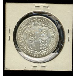 Great Britain, 1/2 Crown 1914 Uncirculated