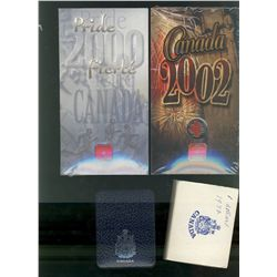 RCM Lot; 2000 Pride & 2002 Canada Day Coloured 25 Cents in original unopened package.  Specimen Nick
