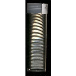 Rolls; 5 cents 1964 x 40 in a tube all BU. All coins have doubling at different degre on the left po