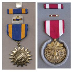 United States; ARMED FORCES Meritorious Service - MSM MEDAL WITH RIBBON & Second Meritous medal but