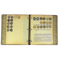 Edgar Adams Notebook on Massachusetts Coins