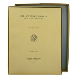 Belden on Indian Peace Medals, in Original Box