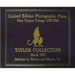 Taylor Plates, with Photo of Bidders