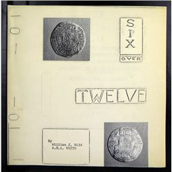 "William Wild's Rare ""Six over Twelve"""