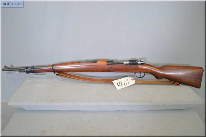 mauser mod belgian m24 army issue 30 06 cal bolt action full wood