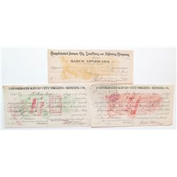 3 Different Mexican Mining Checks