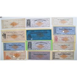 Revenue stamps on documents Collector's Lot