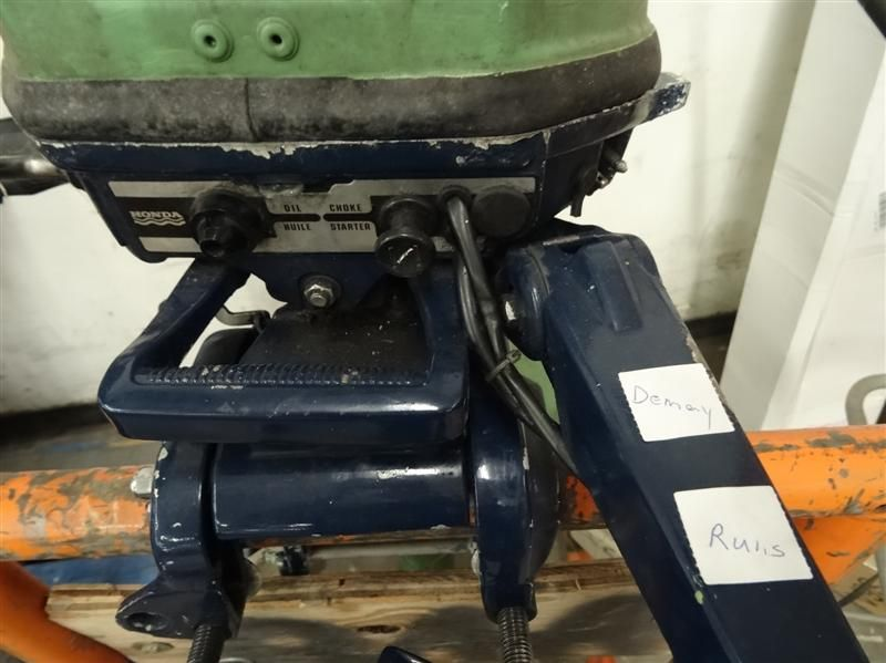 Honda outboard motor b100s no shipping for Honda outboard motors price