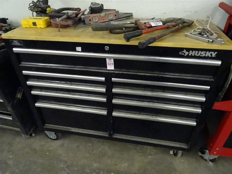 Husky Tool Box - Bay Area Auction Services