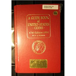 "508. 1994 ""A Guide Book of U.S. Coins"", 47th Edition. New in cellophane."
