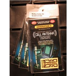 533. (6) Generation X Cell Antennas in original packages. These appear to have originally sold for $