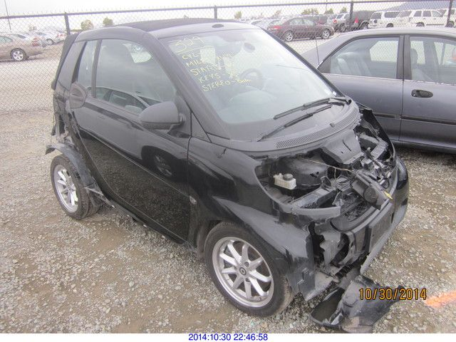 2009 mercedes benz smart fortwo for Smart car mercedes benz