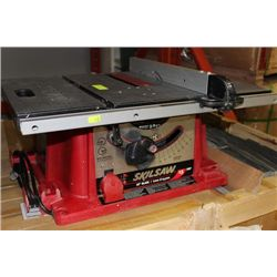 Skil saw 15 amp table saw kastner auctions for 10 inch skilsaw table saw