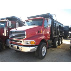 2004 sterling tri axle dump s n 2fzmazcv64an14054 460hp for Mercedes benz montgomery road