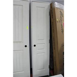 closet pantry door 80 x 18 kastner auctions